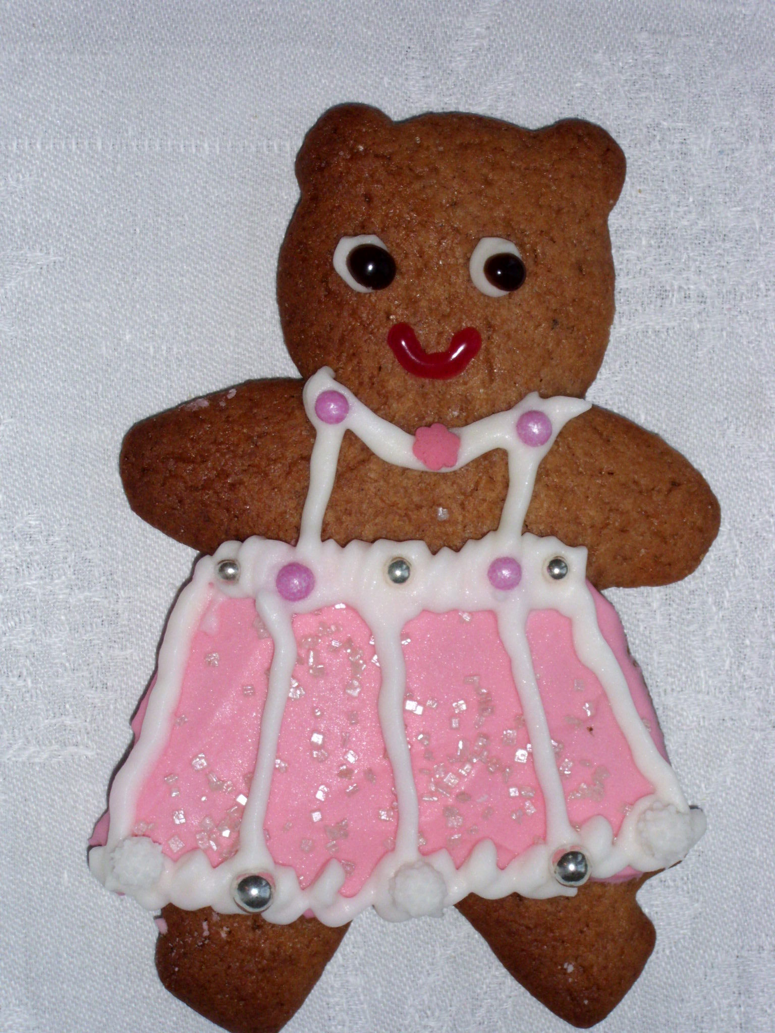 Hausgemachtes Gingerbread Bär