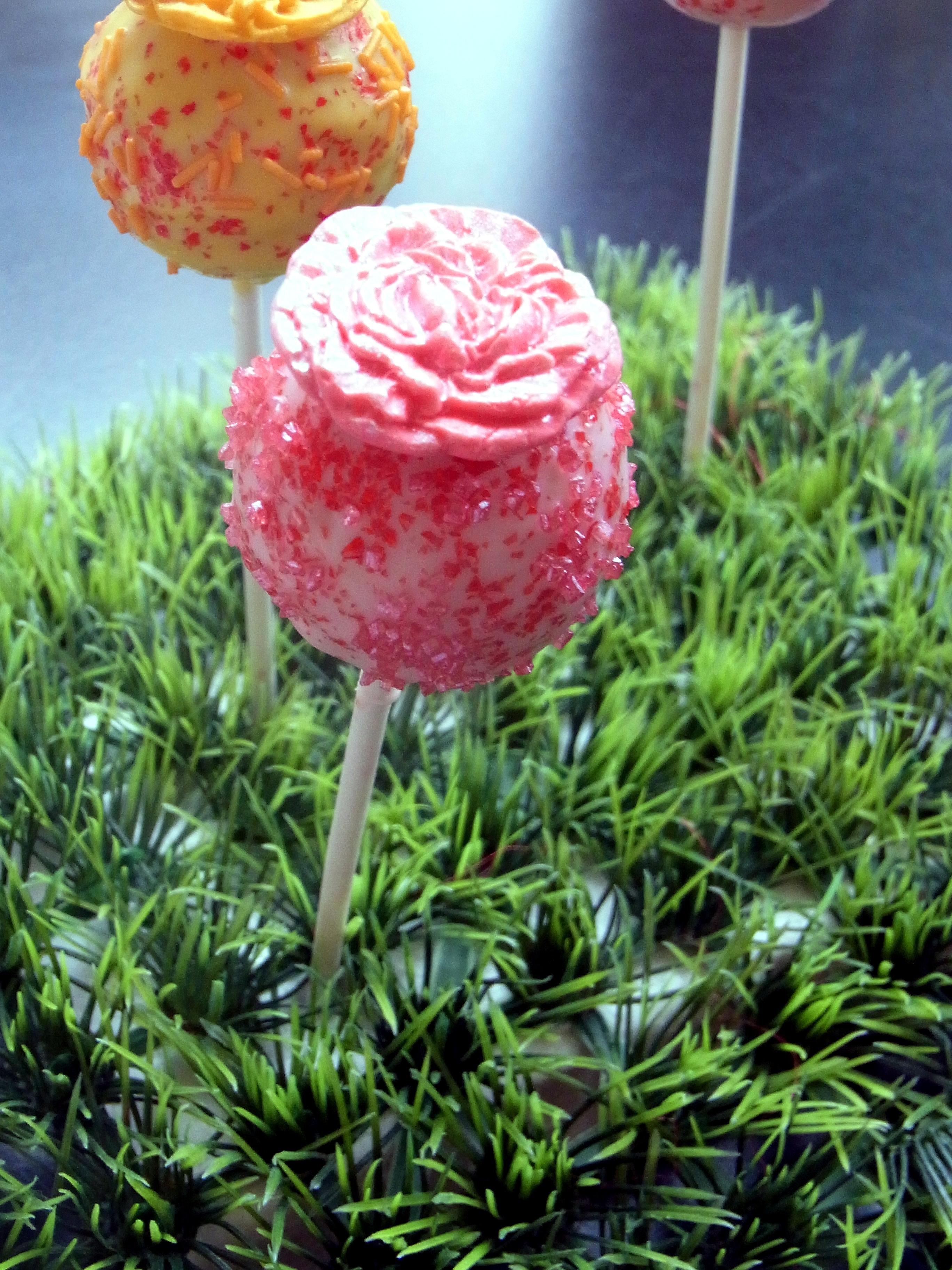 Rosen Cake Pop für festliche Anlässe, 2,30 €