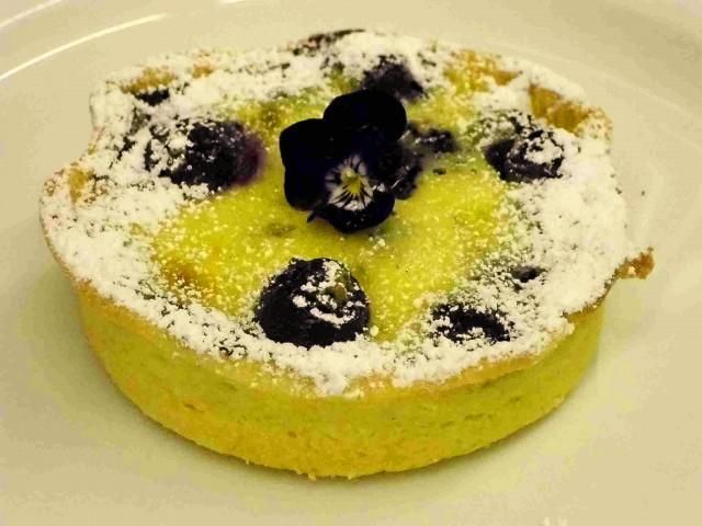 Heidelbeer-Vanille-Tartlet